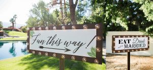Hacienda_Sumaria_Wedding_Rancho_Mirage_Fun_Wedding_Signs